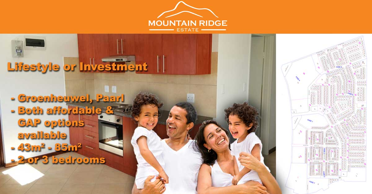 Mountain Ridge Estate in Paarl